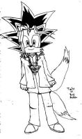 Tails as Yugi by narutardednerd