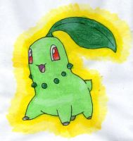 Chikorita by twilightlinkjh
