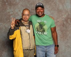 Me and Teal'C by Dangerman-1973