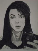Andy Biersack black and white BvB by xxdaswarwohlnix