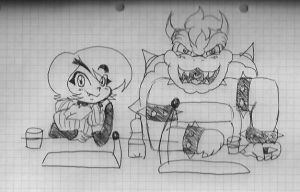 Ask Bowser and Viviana! by vivuz