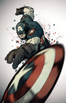 Captain America by TiagoMontoia