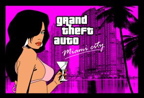 GTA Vice city Miami by Nestaman