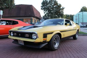 1972 Mustang Mach 1 by Cherry-Man