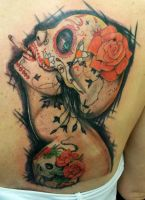 Viveros Tattoo by KrisFordArt