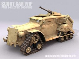 Scout Car WIP2 Model by MikeDoscher