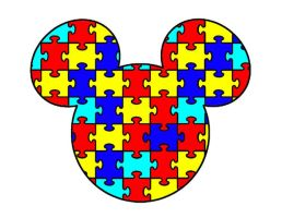 Mickey Mouse Autism Tattoo Design by MyApples