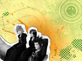 Axel, Roxas, Xion Wallpaper by fridayivy