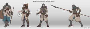 Soul Reaver redesigned - Vampire Hunters concepts by mrJB27