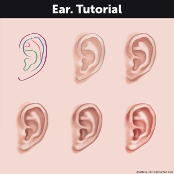 Ear. Tutorial by Anastasia-berry