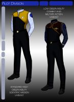 ST:AVG Pilot Officer Uniform by JamieTakahashi