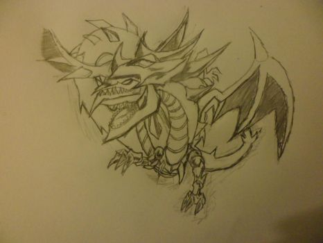 Slifer The Sky Dragon by obelisk4000