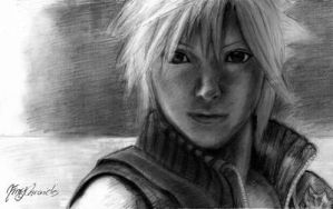 Cloud Strife by fireychronicles