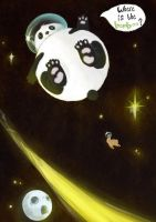 Space Panda by Apply-Some-Pressure