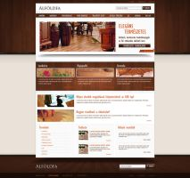 Web design: Alfoldfa by VictoryDesign