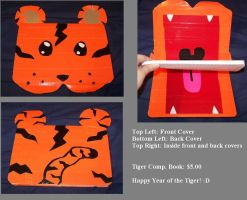 Duct Tape Tiger Notebook by KeeleyDawson