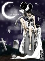 Funeral Bride by DaineN