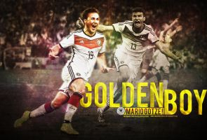 GOLDEN BOY by HkM-GraphicStudio