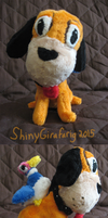 Duck Hunt Dog and Duck Plushies by ShinyGirafarig
