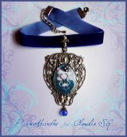 Gothic Lady-Cat choker by Pinkabsinthe