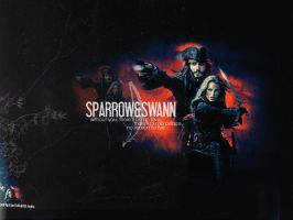 sparrow and swann. by brightnewdawn