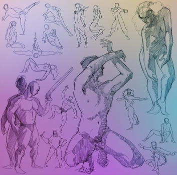 Daily Gesture 282 by abrahamdavid