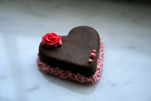 Valentine's Heart Cake by Shacchan