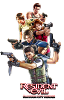Resident Evil Raccoon City Heroes by juniorbunny