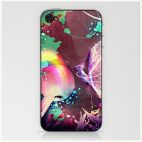 Rainforest iphone and ipod skin by Pixelflakes