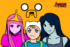 Adventure Time by x-Kaze-x
