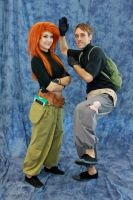 Kim Possible and Ron Stoppable 2 by PumkinSpice