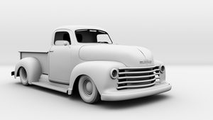 52 Chevy Custom by bewsii