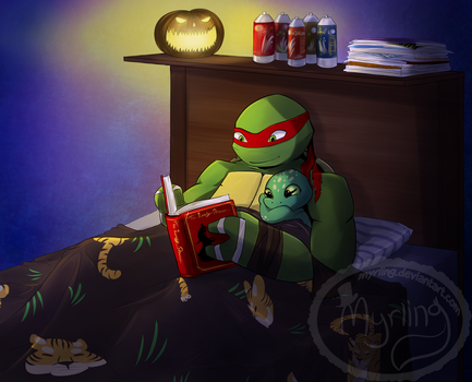 TMNT - A good night by Myrling
