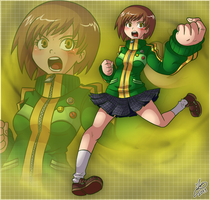 Waifu Month 08 - Satonaka Chie by Ian-the-Hedgehog