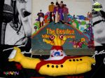 Yellow Submarine Pillow by Sandy-Oblivion