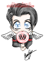 Andy Biersack Tattoo Design by Ebsie