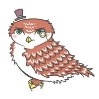little owl commission for luckymercutio by LisaBueno