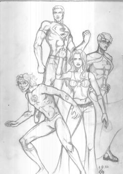 Titans scetch by GlenLorence