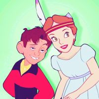 Hogarth/Wendy by angeelous-dc