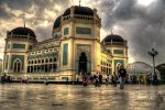 Al-Mashun Grand Mosque - Medan by andriNASUTION