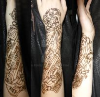 Henna Tattoo 3 by Feivelyn