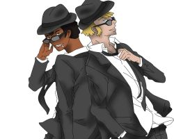 MiB in town by Lady-ALTernate