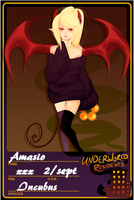 UR: Application Amasio by Devilsflair