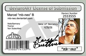 deviantART License by mb-neo