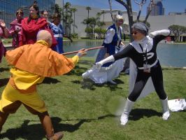 danny v aang cosplay 1 by slifertheskydragon