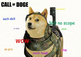 CALL OF DOGE by eyelessjack117