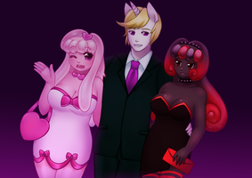 Commish: A Night on the Town by Pastelletta