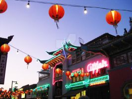 Neon Chinatown - Side View by ShipperTrish