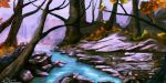 Fall Landscape by Thesis-D