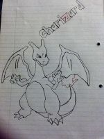 Charizard Drawing by DatRets